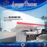 3 degli assi 50cbm dell'acciaio inossidabile dell'autocisterna rimorchio di olio combustibile del camion semi