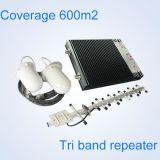 2g dell'interno 3G 4G 1800 ripetitore/ripetitore mobili del segnale della fascia triplice di 2100 2600MHz Lte