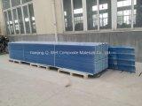 Il tetto ondulato di colore della vetroresina del comitato di FRP/di vetro di fibra riveste T172009 di pannelli