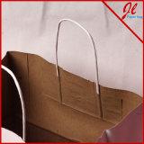 O branco/punho recicl Versa de Kraft ensaca sacos contínuos do presente de Kraft