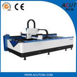 La tôle usine la machine de coupeur de laser de fibre d'acier du carbone