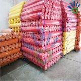 Tissu non-tissé matériel de vente en gros de matière première de tissu de 100% pp Spunbond dans une Rolls