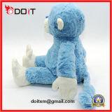 Macaco azul brinquedo macio brinquedo recheado brinquedo monkey pelúcia