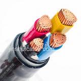 cable estándar del PVC 3X500AWG/3X4/0AWG/3X250AWG