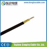 Tipos de cabo elétrico ao ar livre isolados europeu