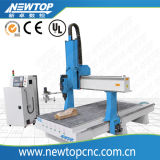 Маршрутизатор CNC Woodworking с Atc и осью 4: Роторная ось