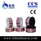 gaz de CO2 de 0.8mm protégeant le fil de soudure Er70s-6