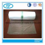 Sacs en plastique estampés de congélateur de sac de nourriture sur le roulis