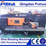 Elektrischer Servotyp CNC-lochende Maschine mit Selbstindex-/hydraulischer Drehkopf-lochender Maschine