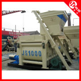 Js1000 (1m3) Twin Shaft Concrete Mixer