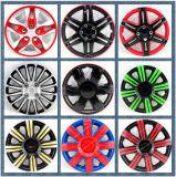 Tampa plástica colorida da borda da roda dos PP