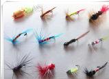 لون مختلفة مختلفة كلاب طيران طعم صيد سمك طعم