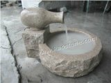 Outdoor 정원 Decoration를 위한 화강암 Stone Carved Water Fountain
