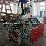 PVC/PE/PP/PPRのプラスチック製品を作るための単一ねじ押出機
