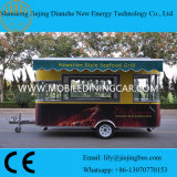 De modieuze Mobiele Bestelwagen van het Voedsel voor Verkoop