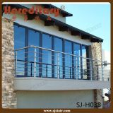 Trilhos montados lado da escada do aço inoxidável de projeto simples (SJ-H1321)