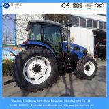 giardino agricolo/mini dell'azienda agricola di 140HP 4WD/azienda agricola diesel/coltivare/prato inglese/trattore compatto con Ce