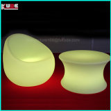 Modern LED Outdoor Furniture en plastique LED Sofa