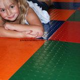Anti feuille d'atelier de glissade, couvre-tapis en caoutchouc carrés de tuile, couvre-tapis en caoutchouc de plancher
