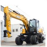 Sany Sy155 15ton pequeño agujero de excavación de la máquina excavadora hidráulica RC