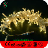 12V屋外の装飾のクリスマスLEDストリングライト