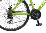 """26 """" 21sp緑の熱い販売の新しい方法アルミニウムマウンテンバイク"""