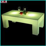 Mehrfarbenvier Schemel geleuchteter Tee-Tisch für Wohnzimmer