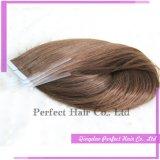 Уток кожи ленты PU микро- и выдвижение волос