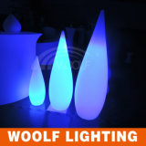 Color que cambia la luz de la Agua-Gota del LED