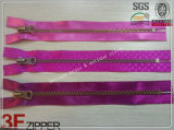 Metal Zipper con Silk y Ribbon Tape