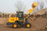 De mini Landbouwmachines van de Lader van het Wiel van de Machines 1.8ton van de Bouw