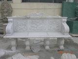 Tabelle di pietra beige del marmo dell'oggetto d'antiquariato della scultura (SY-T003)