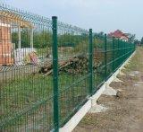 Dreieck-verbiegender Maschendraht-Zaun/geschweißter Panel-Zaun