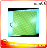 230V 1800W 600*600*1.5mm Square Silicone Rubber Etched Heater