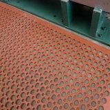 다채로운 고무 매트 구멍 고무 매트 Anti-Slip 부엌 매트 산성 저항하는 고무 매트