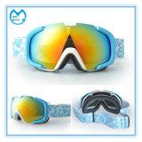 スキーは置換レンズとのゴーグルの紫外線保護を遊ばす