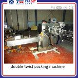 Máquina de embalagem dobro de alta velocidade da torção para o disconto