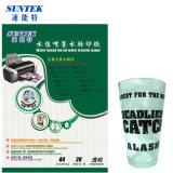 190 Papel transparente de impresión de transferencia de agua de inyección de tinta de GSM