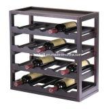 Suporte removível de madeira Winsome do vinho do cubo do armazenamento do vinho da bandeja