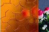 Het gekleurde Gekleurde Glas van het Patroon/Geweven Glas/Gerold Glas