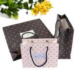 Мешок упаковки бумажной несущей печати мешка подарка покупкы бумаги Kraft (a104)