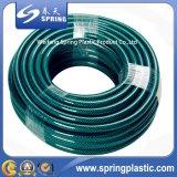 Mangueira de jardim reforçada nylon do PVC com boa qualidade