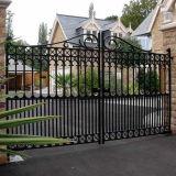 Puerta del hierro labrado para el jardín