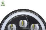 Faro massimo minimo caldo del motociclo LED del fascio di vendita 60W per la jeep