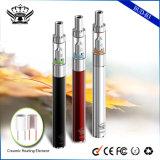 290mAh cigarrillo electrónico de cerámica de la salud del cigarrillo del tanque de cristal de la calefacción 0.5ml