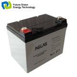 bateria acidificada ao chumbo dos PRECÁRIOS de 12V 50ah VRLA para o painel solar