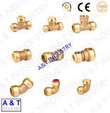 Kupferne Stoss-passende Befestigungs-gerade Kupplung mit Qualität