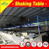 고품질 동요 테이블 광산 농도, 판매를 위한 구리 광석 집중 장치