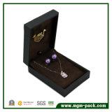 Коробка выдвиженческого Jewellery упаковки бумажная с кожей