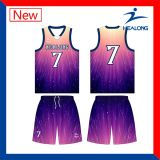 주문 제복 농구는 팀 Jerseys 디자인을 놓는다